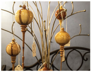 Turning Blind Ornaments