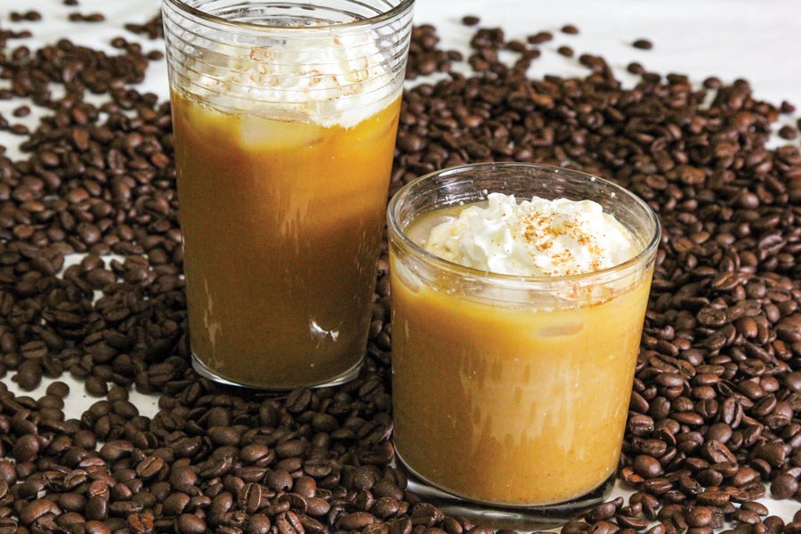 Easy Dairy-Free Pumpkin Cold Brew Latte