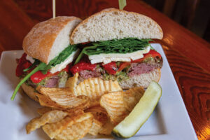 Beefy Roman Sandwich