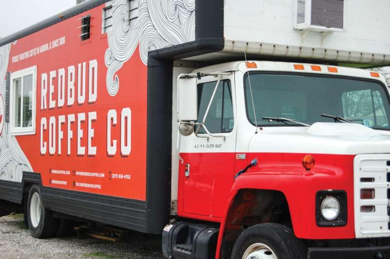 Redbud Coffee Co truck