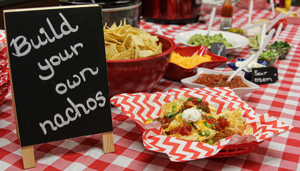 Make your own nacho bar