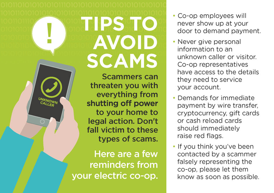 Tips to avoid scams