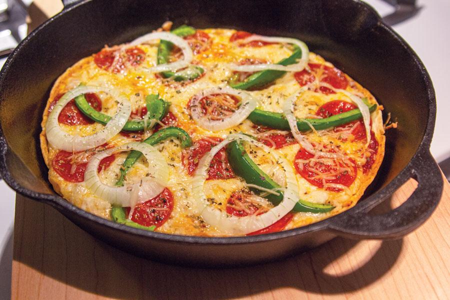 Cast-Iron-Pizza