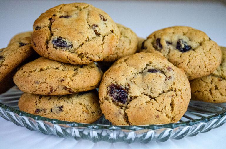 My Mother's Jumbo Raisin Cookies