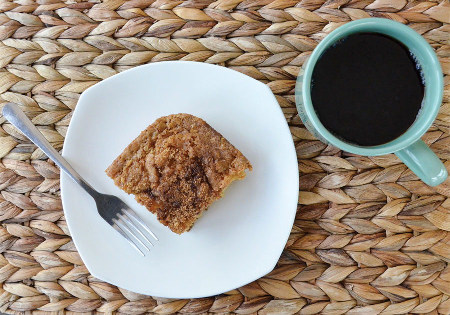 Gluten-Free French Coffee Cake