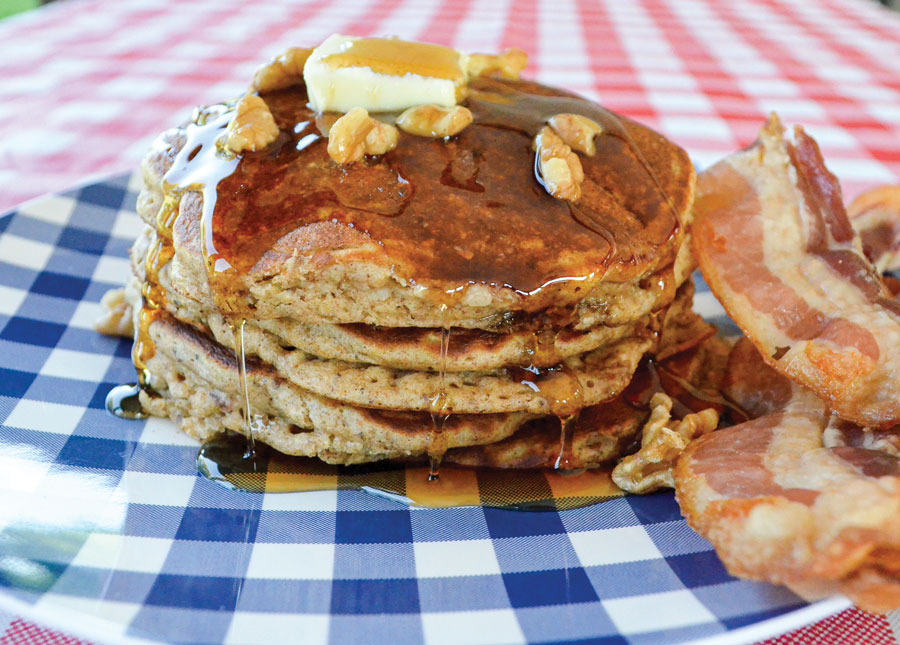IHOP Harvest Grain and Nut Pancakes