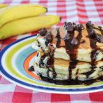 Chunky Monkey Buttermilk Pancakes