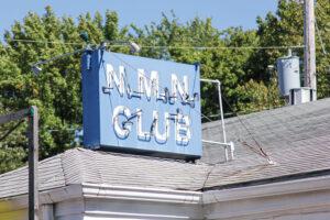 NMN Club sign