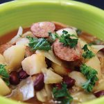 Smoked-Sausage-and-Bean-Soup