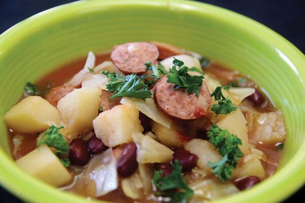 Smoked-Sausage-and-Bean-Soup