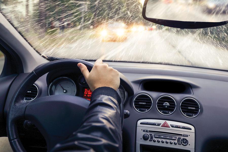 Winter-driving