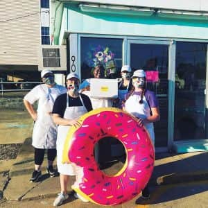 Group-out-front-with-pink-donut