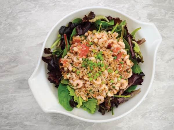 Shrimp and Tabbouleh Salad