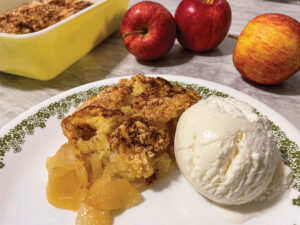 Grandma Lybarger's Apple Crisp