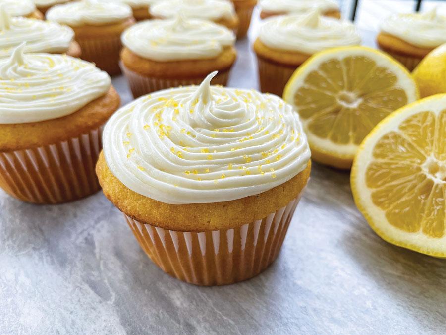 Lemon Bar Cupcakes