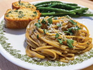 French Onion One-Pot Pasta